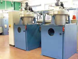 Coolant, Oil Cleaning System